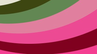 Pink and Green Curved Stripes Background