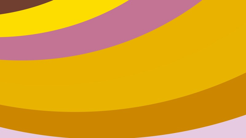 Pink and Orange Curved Stripes Background