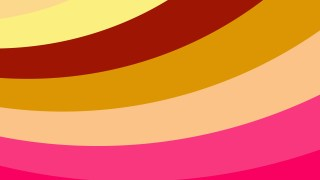 Pink and Orange Curved Stripes Background Vector Image