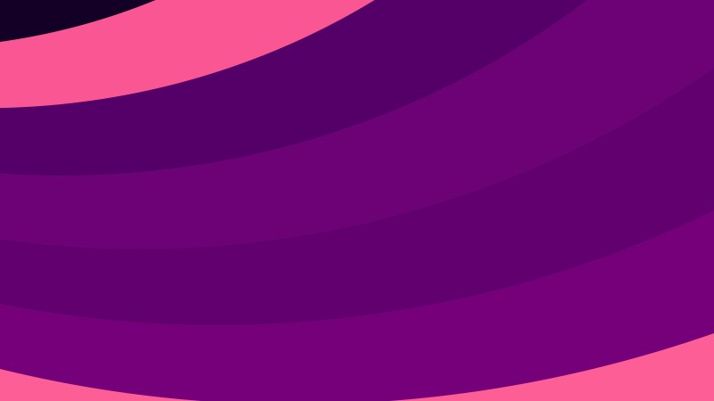 Pink and Purple Curved Stripes Background