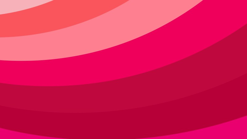 Pink and Red Curved Stripes Background
