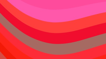 Pink and Red Curved Stripes Background Image