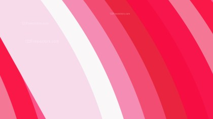 Pink and White Curved Stripes Background Illustration