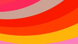 Pink Red and Yellow Curved Stripes Background