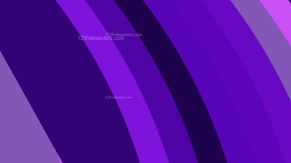 Purple Curved Stripes Background