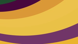 Purple and Orange Curved Stripes Background