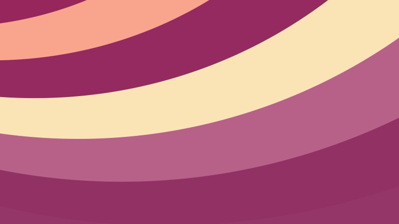 Purple and Yellow Curved Stripes Background Vector Image