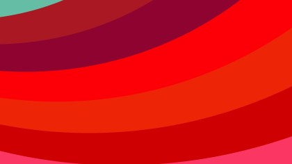 Red Curved Stripes Background Illustration