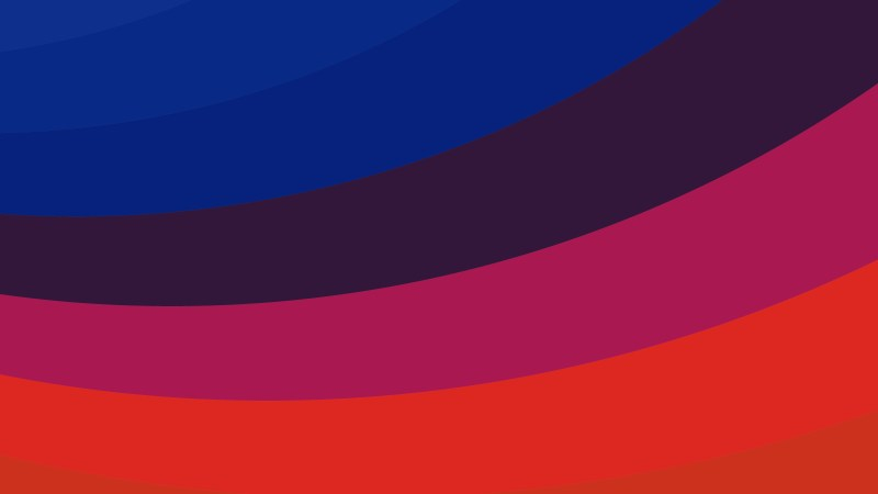 Red and Blue Curved Stripes Background Illustration
