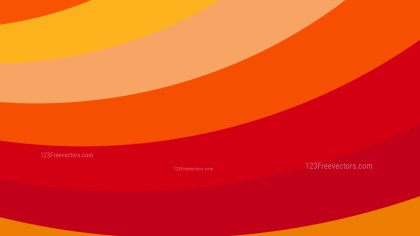 Red and Orange Curved Stripes Background Illustration