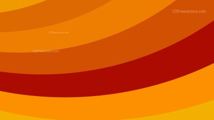 Red and Orange Curved Stripes Background Vector Image