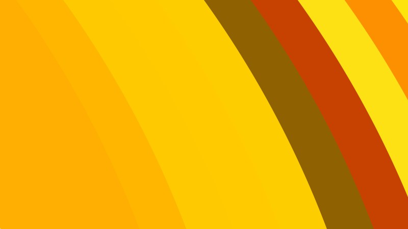 Red and Orange Curved Stripes Background