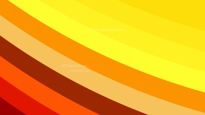 Red and Orange Curved Stripes Background Vector Art