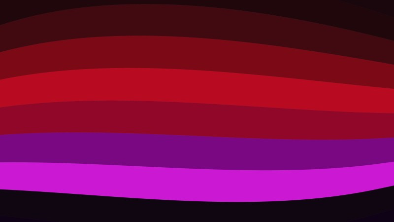 Red and Purple Curved Stripes Background Vector Image