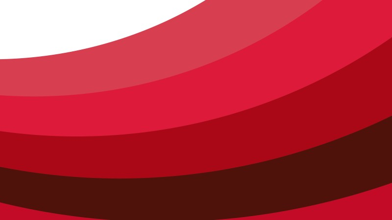 Red and White Curved Stripes Background