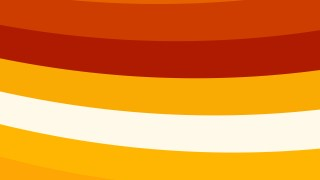 Red Orange and White Curved Stripes Background