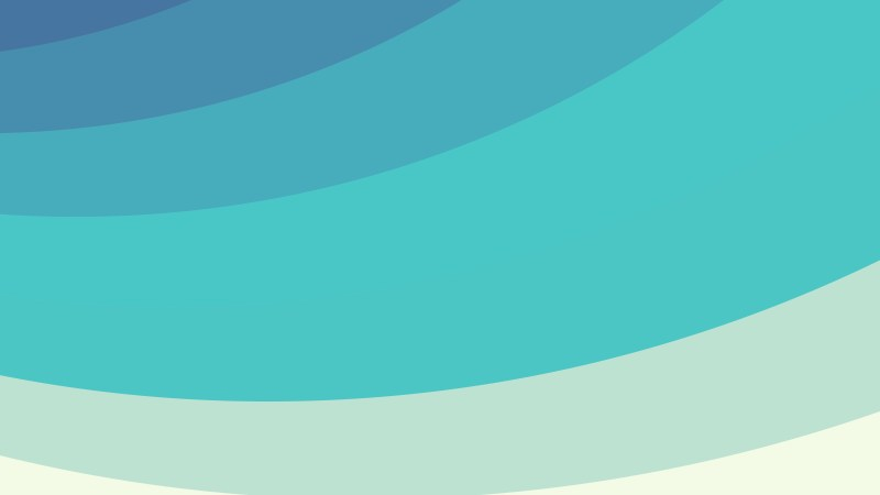 Turquoise Curved Stripes Background Image