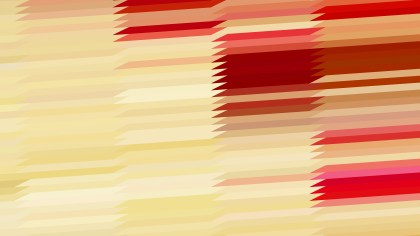 Abstract Beige and Red Horizontal Lines and Stripes Background