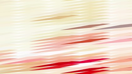 Abstract Beige and Red Horizontal Lines and Stripes Background Vector
