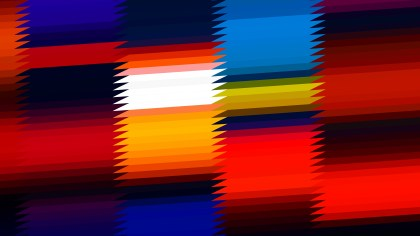 Abstract Black Red and Blue Horizontal Lines and Stripes Background Graphic