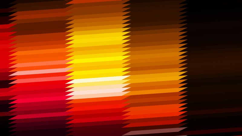 Abstract Black Red and Yellow Horizontal Lines and Stripes Background