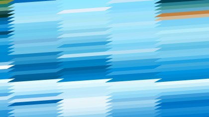Abstract Blue and White Horizontal Lines and Stripes Background Vector Graphic