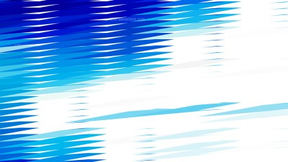 Blue and White Horizontal Lines and Stripes Background Vector
