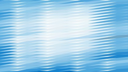 Blue and White Horizontal Lines and Stripes Background