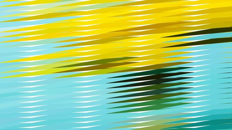 Blue and Yellow Horizontal Lines and Stripes Background
