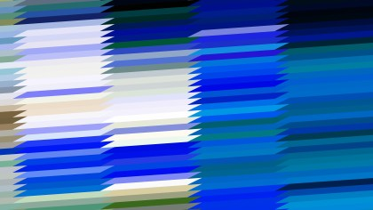 Blue Black and White Horizontal Lines and Stripes Background Graphic