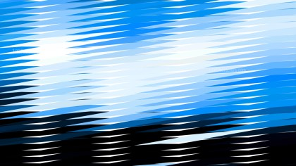 Abstract Blue Black and White Horizontal Lines and Stripes Background Illustrator