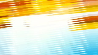Abstract Blue Orange and White Horizontal Lines and Stripes Background