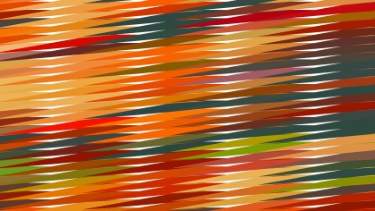 Colorful Horizontal Lines and Stripes Background Vector Graphic