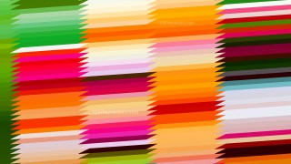 Colorful Horizontal Lines and Stripes Background