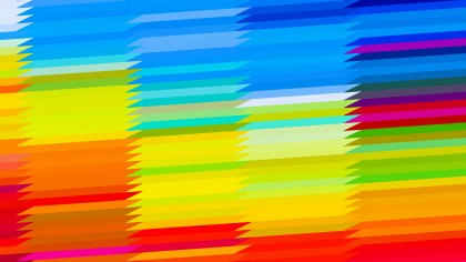 Colorful Horizontal Lines and Stripes Background Illustrator