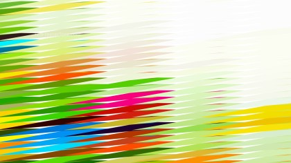 Colorful Horizontal Lines and Stripes Background Graphic