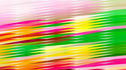 Abstract Colorful Horizontal Lines and Stripes Background Vector