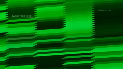 Abstract Cool Green Horizontal Lines and Stripes Background Vector Graphic