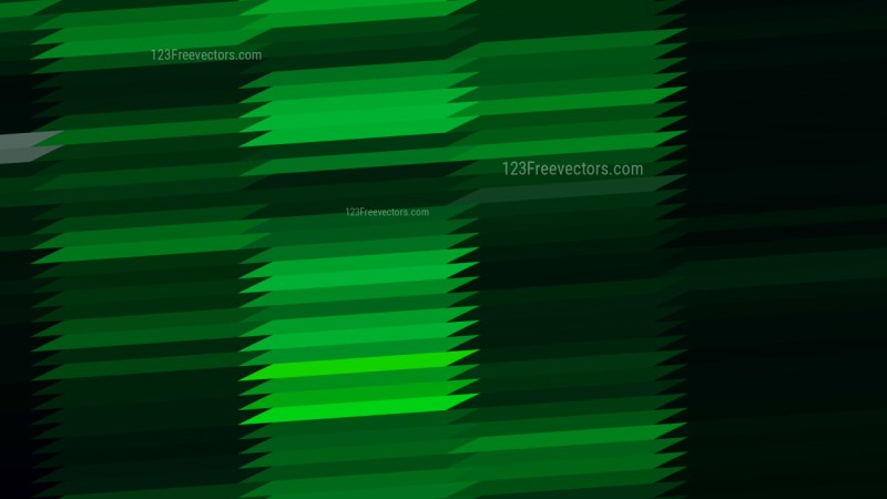 Cool Green Horizontal Lines and Stripes Background