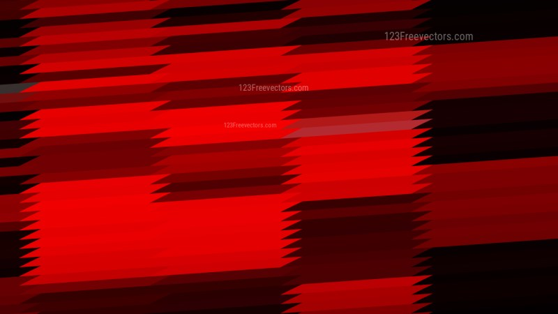 Abstract Cool Red Horizontal Lines and Stripes Background