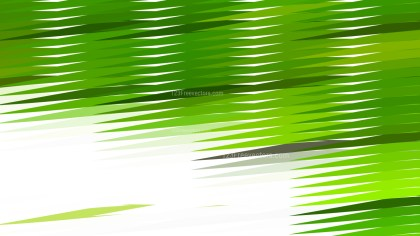 Green and White Horizontal Lines and Stripes Background