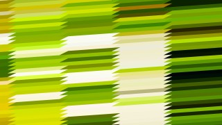 Abstract Green Yellow and White Horizontal Lines and Stripes Background