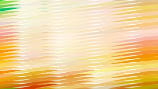 Abstract Light Orange Horizontal Lines and Stripes Background Vector Graphic