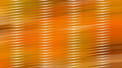 Orange Horizontal Lines and Stripes Background Illustrator