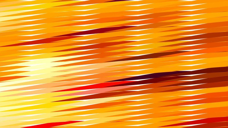 Orange Horizontal Lines and Stripes Background Vector Graphic