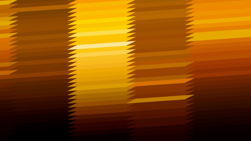 Orange and Black Horizontal Lines and Stripes Background