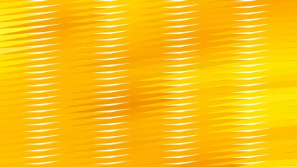Abstract Orange and Yellow Horizontal Lines and Stripes Background