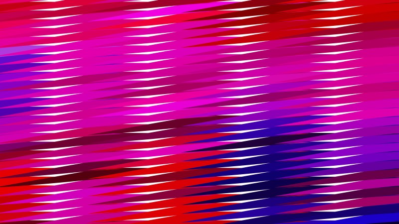 Abstract Pink and Blue Horizontal Lines and Stripes Background