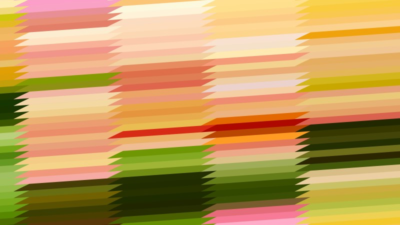 Abstract Pink and Green Horizontal Lines and Stripes Background Vector Graphic