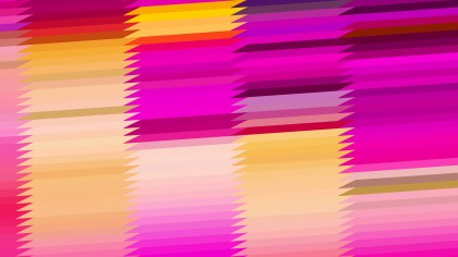 Pink and Orange Horizontal Lines and Stripes Background Design
